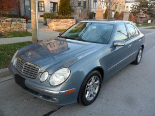 Used 2006 Mercedes-Benz E350 3.5L 4MATIC, AWD, CERTIFIED, LOW KMS ONLY 118000KM for sale in Etobicoke, ON