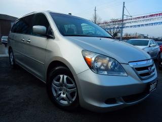 Used 2007 Honda Odyssey EX-L | LEATHER.ROOF | POWER DOORS | SUPER CLEAN for sale in Kitchener, ON