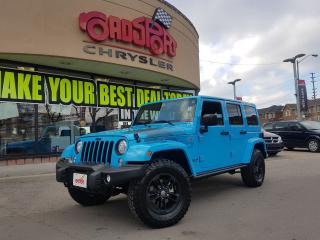 Used 2017 Jeep Wrangler Winter UNLIMITED 4 DOOR NAVI H-TED SEAT TRALER TOW for sale in Scarborough, ON