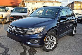 Used 2014 Volkswagen Tiguan Highline, NAVI, LEATHER, PANOROOF for sale in Aurora, ON