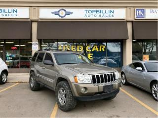 Used 2006 Jeep Grand Cherokee Limited Hemi 5.7L SUNROOF, LEATHER for sale in Concord, ON
