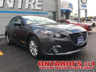 Used 2014 Mazda MAZDA3 GS-SKY/ HEATED SEATS / ONE OWNER!!! TORONTO for sale in North York, ON