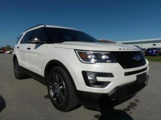 Used 2016 Ford Explorer *CPO* SPORT 4WD 1.9% APR FREE WARRANTY for sale in Midland, ON