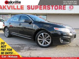 Used 2011 Lincoln MKS LEATHER | BLUETOOTH | HEATED & VENTILATED SEATS for sale in Oakville, ON