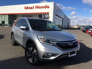 Used 2016 Honda CR-V Touring, Navigation, Leather, Sunroof for sale in Mississauga, ON