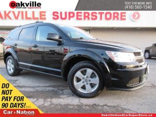 Used 2014 Dodge Journey SXT/Crew | 7 PASS | BLUETOOTH | A/C | LOW KM! for sale in Oakville, ON