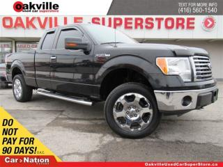 Used 2010 Ford F-150 XLT | TONNEAU COVER | CHROME RIMS | B/U CAM | A/C for sale in Oakville, ON