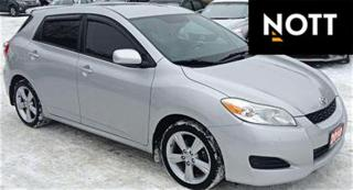 Used 2010 Toyota Matrix Automatic w/ A/C for sale in Winnipeg, MB
