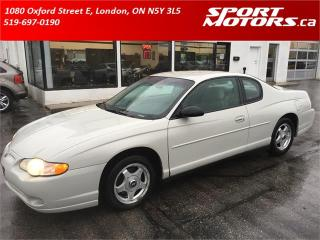 Used 2004 Chevrolet Monte Carlo LS for sale in London, ON