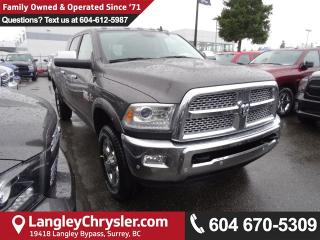 New 2018 Dodge Ram 3500 Laramie for sale in Surrey, BC