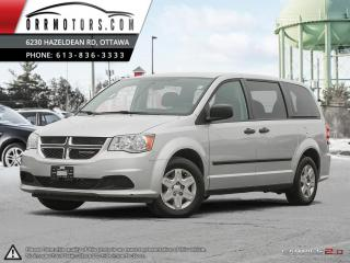Used 2012 Dodge Grand Caravan SE for sale in Stittsville, ON