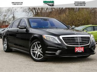 Used 2016 Mercedes-Benz S-Class S550 4MATIC LWB for sale in North York, ON