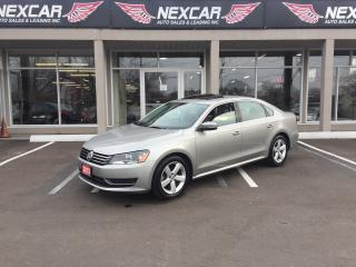 Used 2013 Volkswagen Passat 2.5L COMFORTLINE AUT0 LEATHER SUNROOF 77K for sale in North York, ON