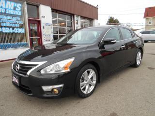 Used 2014 Nissan Altima 2.5 SL NAVIGATION/LEATHER for sale in Guelph, ON