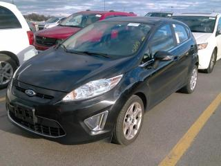 Used 2011 Ford Fiesta SES LEATHER SEATS MOONROOF for sale in Waterloo, ON