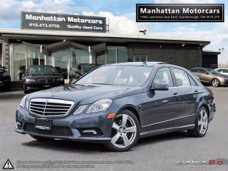 Used 2010 Mercedes-Benz E350 E350 4MATIC |PANO|P.SHIFT|PHONE|NO ACCIDENT for sale in Scarborough, ON