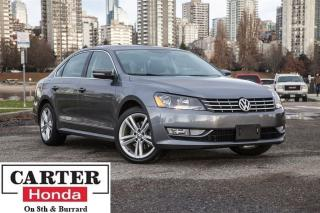 Used 2014 Volkswagen Passat 1.8 TSI Highline + NAVI + LEATHER + BACKUP CAM! for sale in Vancouver, BC