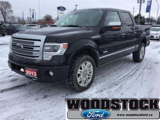 Used 2013 Ford F-150 Platinum - ONE Owner - Local Trade - LOW KMS! for sale in Woodstock, ON