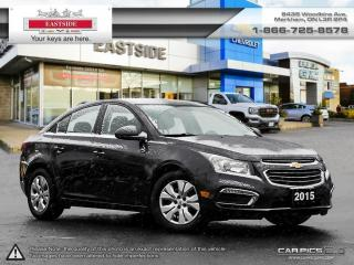 Used 2015 Chevrolet Cruze INTEREST RATE AS LOW AS 0.9% for sale in Markham, ON