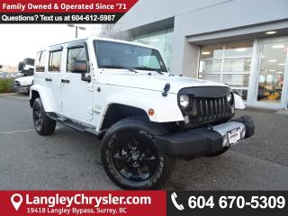 Used 2015 Jeep Wrangler Unlimited Sahara *LOW KMS*LOCALLY OWNED*DEALER INSPECTED* for sale in Surrey, BC