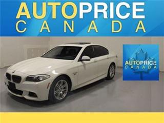 Used 2013 BMW 5 Series X-DRIVE M-SPORT NAVIGATION for sale in Mississauga, ON