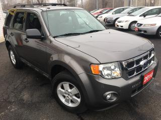 Used 2010 Ford Escape XLT / Auto / Sunroof / Alloys / Low kms!! for sale in Scarborough, ON