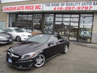 Used 2015 Mercedes-Benz CLA250 CLA 250-4MATIC-SPORT-AMG-NAVI-PREM-PLUS-LOADED for sale in Scarborough, ON