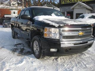 Used 2012 Chevrolet Silverado 1500 LT Extended Cab 4x4 V8 Short box AC PL PM PW for sale in Ottawa, ON