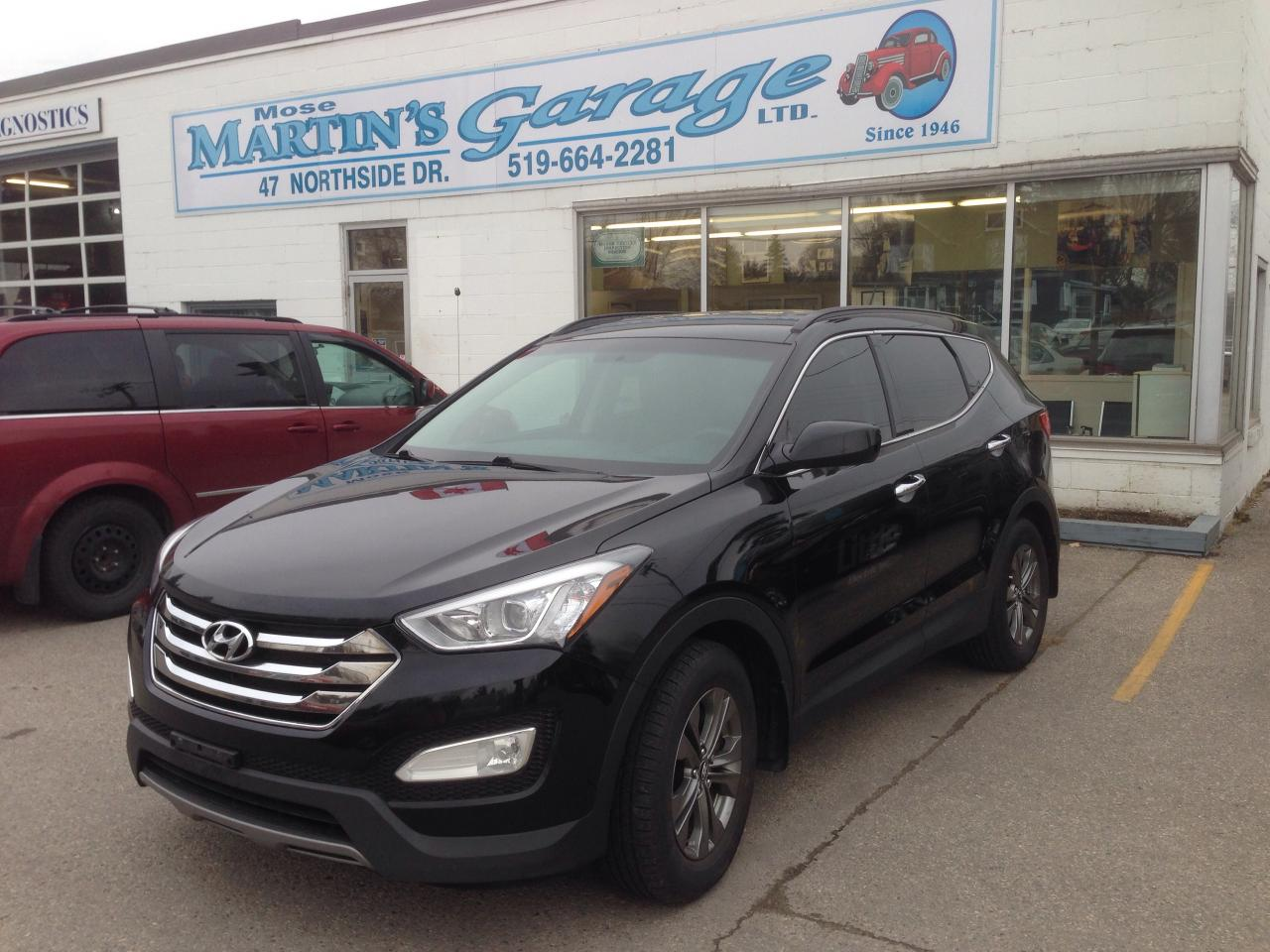 used 2014 hyundai santa fe sport for sale in st jacobs ontario. Black Bedroom Furniture Sets. Home Design Ideas