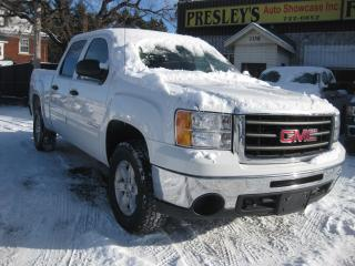 Used 2011 GMC Sierra 1500 SLE Crew Cab 5.3L 4x4 6 Pass AC PW PL PM for sale in Ottawa, ON