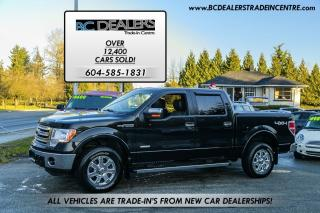 Used 2014 Ford F-150 Lariat SuperCrew 4x4, Navi, Low Km's, Ecoboost! for sale in Surrey, BC