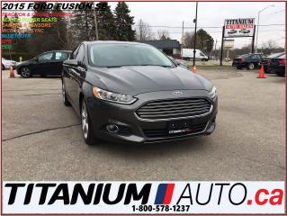 Used 2015 Ford Fusion SE+2.0L EcoBoost+Camera+GPS+Remote Start+Heated Se for sale in London, ON