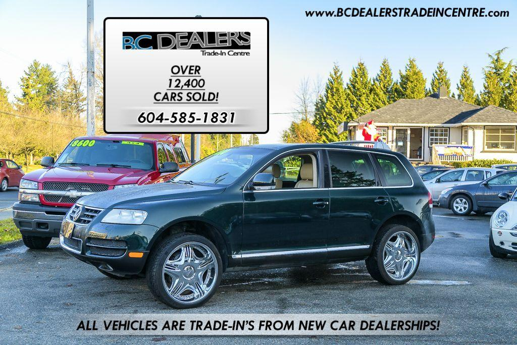 Used 2004 Volkswagen Touareg V8 4x4 22 S Chrome Wheels