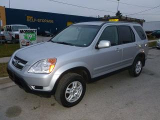 Used 2003 Honda CR-V EX-L for sale in North York, ON
