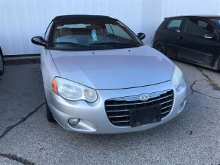 Used 2005 Chrysler Sebring Limited | FRESH TRADE | AS IS for sale in London, ON