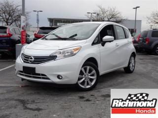 Used 2015 Nissan Versa Note SL! Balance Of Factory Warranty! for sale in Richmond, BC