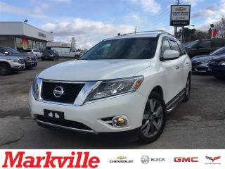 Used 2014 Nissan Pathfinder PLATINUM -4WD- CERTIFIED PRE-OWNED for sale in Markham, ON