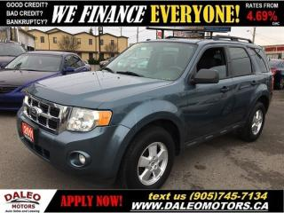 Used 2011 Ford Escape XLT| LEATHER| HEATED SEATS for sale in Hamilton, ON