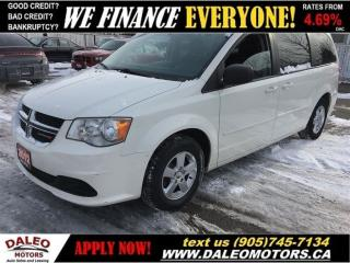 Used 2012 Dodge Grand Caravan SXT | STOW N GO | REAR A/C for sale in Hamilton, ON