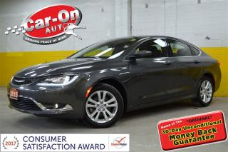 Used 2015 Chrysler 200 LIMITED CAMERA HTD SEATS / STEERING for sale in Ottawa, ON