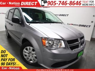Used 2016 Dodge Grand Caravan CVP| DUAL CLIMATE CONTROL| OPEN SUNDAYS| for sale in Burlington, ON