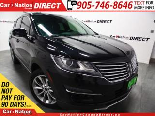 Used 2015 Lincoln MKC | AWD| LEATHER| PANO ROOF| NAVI| for sale in Burlington, ON