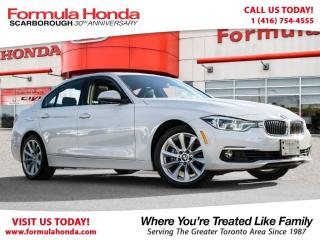 Used 2017 BMW 3 Series $100 PETROCAN CARD YEAR END SPECIAL! for sale in Scarborough, ON