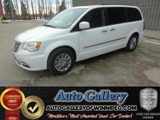 Used 2015 Chrysler Town & Country Touring - L*Lthr/DVD for sale in Winnipeg, MB