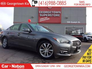 Used 2014 Infiniti Q50 Premium | NAVI | AWD | 360 CAM | ROOF for sale in Georgetown, ON