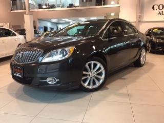 Used 2014 Buick Verano NAVIGATION-CAMERA-LEATHER-REMOTE START-ONLY 79KM for sale in York, ON