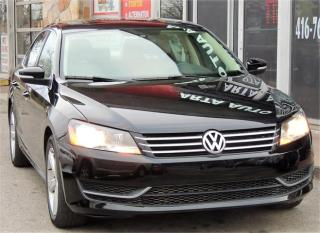 Used 2013 Volkswagen Passat SE w/Sunroof for sale in Etobicoke, ON