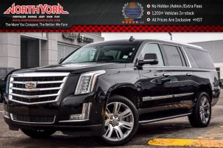 Used 2017 Cadillac Escalade ESV Luxury 4x4|Rr DVD's|BlindSpot|LaneKeep|BOSE|22