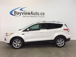Used 2014 Ford Escape TITANIUM- 4WD|ECOBOOST|REM STRT|ROOF|HTD LTHR|SONY for sale in Belleville, ON