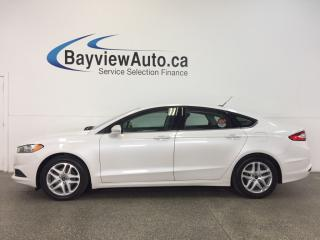 Used 2014 Ford Fusion SE- 2.5L|ALLOYS|KEYPAD|SYNC|A/C|CRUISE|LOW KM! for sale in Belleville, ON